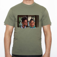 Dos Hombres y Medio - Camiseta Fruit of The Loom  Valueweight