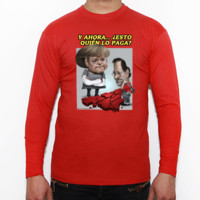 EL RESCATE - Camiseta manga larga Fruit of the Loom