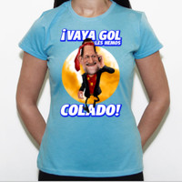 Vaya Gol - Camiseta Fruit of The Loom