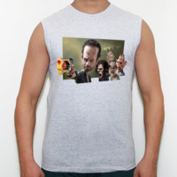 Walkin Dead - Camiseta Fruit Of The Loom sin mangas