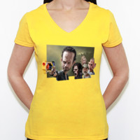 Walking Dead - Camiseta de pico Fruit of the Loom