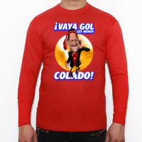 Vaya Gol - Camiseta manga larga Fruit of the Loom